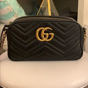 Gucci Marmont Small Leather Camera Bag
